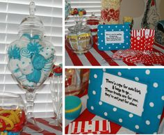 Modern Mommy MustHaves: Our Dr. Seuss 1st Birthday Party...