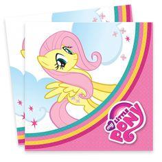 My Little Pony Rainbow Paper Party Napkins