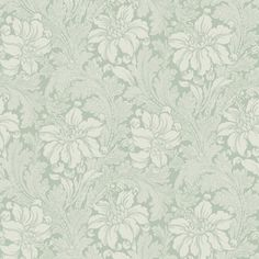 The wallpaper pattern Acanthus from Engblad & Co Acanthus from Arkiv Engblad is a grey wallpaper in floral traditional style Damask Wallpaper, Pattern Wallpaper, Tile Patterns, Fabric Patterns, Wall Colors, Paint Colors, Acanthus, Cool Chairs, Wall Treatments
