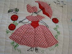 Southern style Sunbonnet Sue ~ best of show