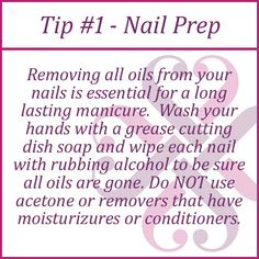 I cannot stress this one enough! I like to do all my nails before I apply the wraps, then wipe each one down with alcohol or Jamberry's Nail Cleanser individually before each wrap. heatherhanshew.jamberry.com
