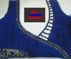 B Chudidhar Neck Designs, Blouse Back Neck Designs, Neckline Designs, Blouse Designs Silk, Designer Blouse Patterns, Salwar Designs, Blouse Models, Boutique Design, Blouse Styles