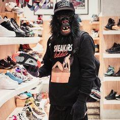 #spmk #spacemonkeys #sweat #crewneck #sneakersaddict #monkey #gonzo