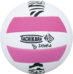 Tachikara Zebra Sof-Tec Outdoor Volleyball | DICK'S Sporting Goods