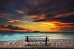 view from the bench - MESSOLONGHI, GREECE www.facebook.com/athanvas/photos_all Please view this in black background ©Vasilis Athanasopoulos 2016