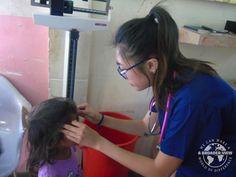 Volunteer Janesa Chin in Honduras La Ceiba at the PreMed program local hospital weekend tour