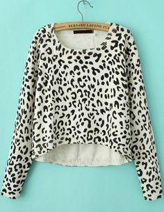 Jersey punto manga larga-Leopardo EUR€24.85