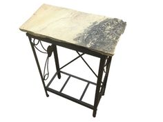 Indian Sandstone Sofa Table: A 12 x 24 x 32 Accent Tables, Recycled Materials, Drafting Desk, Natural Stones, Folk Art, Sofa, Indian, Furniture, Vintage