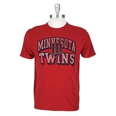 Forty Seven Brand Mens Contemporary Minnesota Twins Scrum Tee
