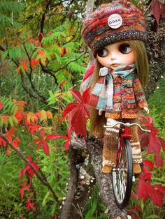 OOAK girl by mademoiselleblythe, via Flickr