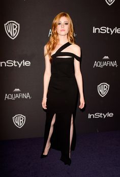 Katherine McNamara à l'afterparty des Golden Globes