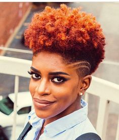 Keep Your Locks Healthy With These Hair Care Tips - Lifestyle Monster Natural Short Cuts, Tapered Natural Hair, Tapered Afro, Curly Hair Styles, Natural Hair Styles, Tapered Haircut, Dope Hairstyles, Natural Hair Inspiration, Love Hair