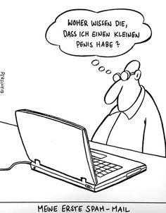 #erste spam mail #perscheid