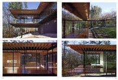 Image result for kengo kuma glass wood house