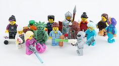 Lego Men Wedding Favours - perfect for a geeky wedding