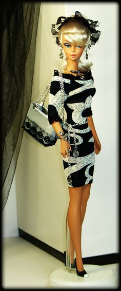 OOAK Fashion for Silkstone Barbie Vintage by lovefashionbarbie