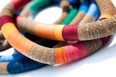 Colorful accessoires en carton