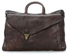 Cartelle Briefcase dark brown 38 cm