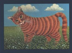 Painted Cat - The Ginger Cat - Gertrude Halsband | by quiet_place