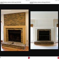 Before and after Direct Vent Fireplace, Plank, Projects To Try, Home Decor, Decoration Home, Room Decor, Home Interior Design, Planks, Home Decoration