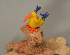 Bird of the Yellow Sort by FunkerMarket on Etsy, $35.00