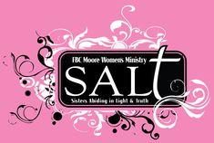 S.A.L.T Women's Ministry- idea for Ladies Retreat design.