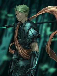 Rider of Red - Achilles Anime Manga, Anime Guys, Anime Art, Manga Art, Fate Zero, Character Inspiration, Character Art, Character Design, Fate Characters
