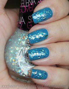 Nicole by OPI Selena Gomez Nail Polish Swatch Heavenly Angel