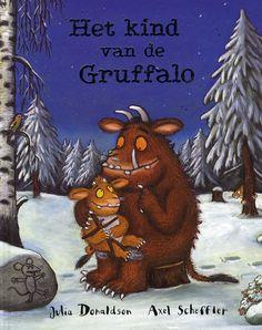 Het kind van de Gruffalo / Julia Donaldson De Gruffalo is een niet al te snugger monster. Hij waarschuwt zijn kind voor de Grote Gevaarlijke Muis in het bos, maar de kleine gaat nieuwsgierig toch op pad. Prentenboek met naïeve tekeningen in kleur en tekst op rijm. Vanaf ca. 4 jaar. http://www.bibliotheekbreda.nl/iguana/uploads/specials/kbw2008/gruffalo.html