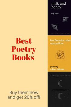These are the best poetry books for teens Each book explores important topics like love relationships pain loss heartbreak abandon abuse hope and deep feelings for someon. Poetry Books For Kids, Best Poetry Books, Books For Teens, Good Books, Novels To Read, Books To Read, Sell Books, Book Club Books, Book Lists