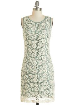 This Day and Sage Dress, #ModCloth @Whitney Williams do you think this overlay is dye-able?