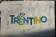 Greetings from Trentino by Cyprien Richard, Ted Ligety, Bode Miller, Jon Olsson, Aksel Lund Svindal and all the other champions who challenged during VPay Alpine Rockfest in Andalo Bye guys, see you next year :)