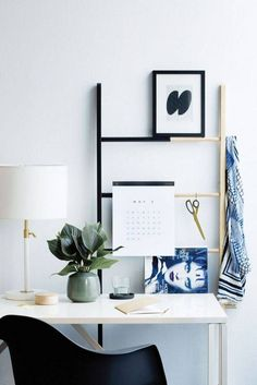 Cool 37 Brilliant Space Saving And Multifunctional Desk Design Ideas. More at http://dailypatio.com/2017/12/12/37-brilliant-space-saving-multifunctional-desk-design-ideas/