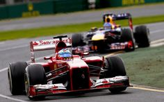 Alonso, delante de Vettel en Albert Park