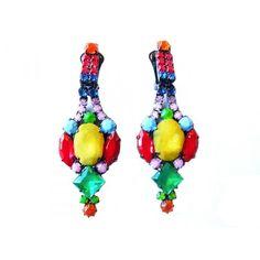 El Carmen statement clip-on earrings