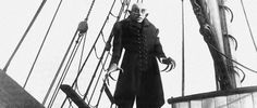 Max Schreck in 'Nosferatu' - Movie release year: this day, Max Schreck's performance as Count Orlok in the German Expressionist horror film is one of the best, most downright terrifying portrayal of vampires. Max Schreck, Nosferatu The Vampyre, Nosferatu 1922, Dracula Untold, Classic Horror Movies, Horror Films, Nosferatu Tattoo, Film Twilight, Image Cinema