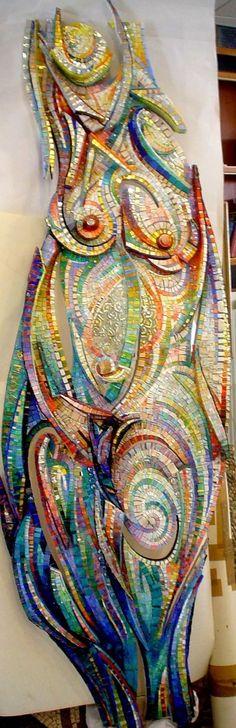 Amazing glass mosaic!
