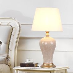 Girona Mercury Glass Table Lamp