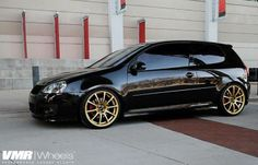 VMR Wheels VW GTI Black V701 19 Custom-Powdercoat 1668