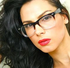 Vintage Fashion Wayfarer Clear Lens Brown Transparent Frame Men Women Eyeglasses | eBay