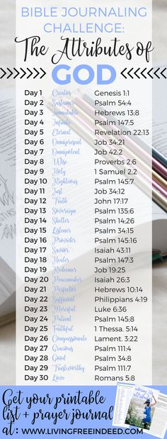 Love this for Homeschool Bible. Bible Journaling His Attributes Challenge - Free Indeed Bible Prayers, Bible Scriptures, Bible Quotes, Prayer Quotes, Quotes Quotes, Bible Words, The Words, Bibel Journal, Scripture Study