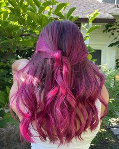 Virgin Pink is just so... DREAMY ☁️💕 @emilyherbhair #AFvirginpink