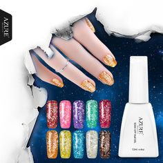 Azure 12ml UV Gel Nail Polish Gorgeous Color Nail Gel Polish Vernis Semi Permanent Top Coat Base Coat Gel  Varnishes Gelpolish #>=#>=#>=#>=#> Click on the pin to check out discount price, color, size, shipping, etc. Save and like it!