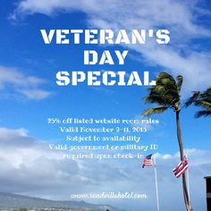 Veteran's Day Special
