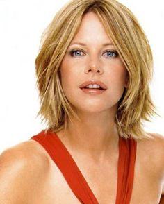 Celebrity Meg Ryan Hairstyles for lene
