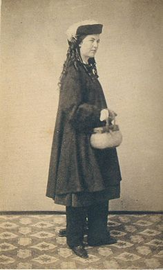 The Original Bloomer Girls Katy Johnson c 18641865 photo from Catherine Smith coauthor of Women in Pants Civil War Fashion, Civil War Dress, Victorian Costume, Period Outfit, Historical Clothing, Ladies Day, Fashion History, Project Medusa, Amelia Bloomer