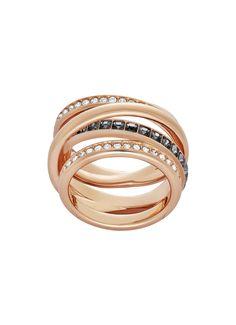 Swarovski Dynamic ring (Mt: 58)