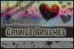 Grunge - Download  Photoshop brush http://www.123freebrushes.com/grunge-381/ , Published in #GrungeSplatter. More Free Grunge & Splatter Brushes, http://www.123freebrushes.com/free-brushes/grunge-splatter/ | #123freebrushes