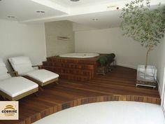 Deck para Hidro-spa - Cobrire Construções em Madeira