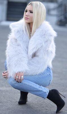 a68dc88140d8 Chinchilla, Jackets For Women, Coats For Women, Fur Fashion, Womens Fashion,